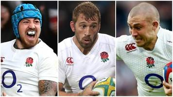 six nations: england's chris robshaw, mike brown & jack nowell fit for italy clash