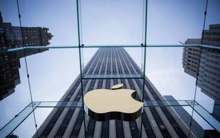 will apple take the dow over 27,000 this week?