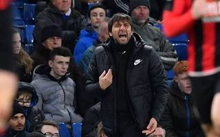 """conte insists """"i'm doing a great job"""" after bournemouth batter chelsea"""