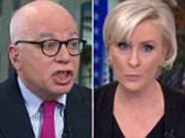 you're done! morning mika cuts off michael wolff interview