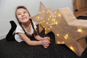 inspirational young west lothian girl, 6, has raised over £1000 for cancer charity