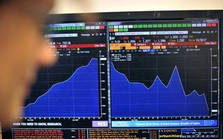 ftse 100 falls steeply as global stock sell-off continues