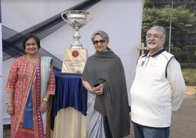 inaugural edition of suresh and bharati shroff memorial t20 cricket league gets underway