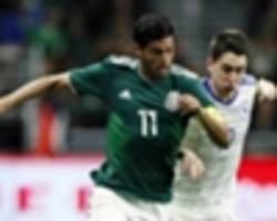 mexico to play croatia in second march friendly match