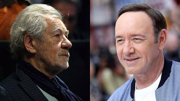 actor sir ian mckellen won't be drawn on whether kevin spacey should act again