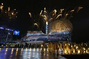 8 coolest ways the olympic torch has been lit (video)