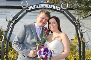 dumfriesshire gears up for february 14 with 26 couples set to tie the knot at gretna green