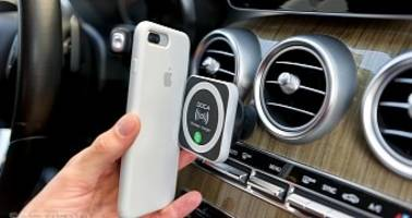 doca magnetic wireless car charger for samsung phones and iphone review