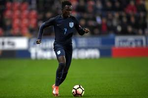 nottingham forest's arvin appiah helps england to 1-1 draw with germany at algarve cup