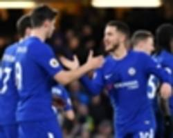 Hazard double provides Conte relief as Chelsea ease past West Brom