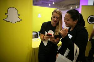 Snap is rallying after a report reveals it may be 'siphoning away' younger users from Facebook (SNAP, FB)