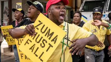 South Africa: ANC leaders expected to ask President Zuma to resign