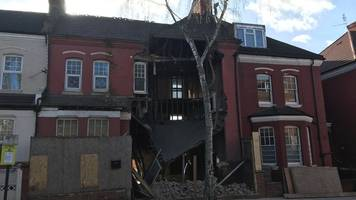 West Hampstead house collapses 'from roof to basement'