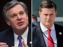 FBI director: White House had 4 warnings about Rob Porter