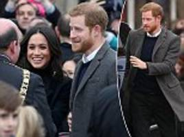 Prince Harry takes Meghan Markle to greet Edinburgh locals