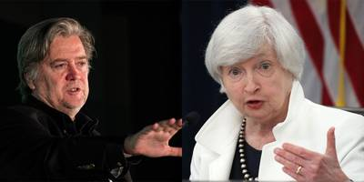 steve bannon wanted 'my girl' janet yellen to stay on as fed chair