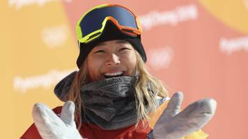 Winter Olympics: Chloe Kim wins halfpipe gold medal for United States