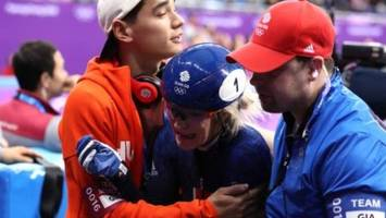 Winter Olympics: Elise Christie backed to recover from 500m final crash