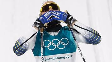 winter olympics: sweden's stina nilsson claims gold in the women's cross-country sprint final