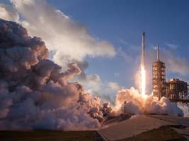 elon musk's spacex is about to launch the first of 11,925 internet satellites — more than all spacecraft that orbit earth today