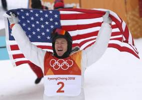2018 winter olympics: snowboarding legend shaun white claims gold