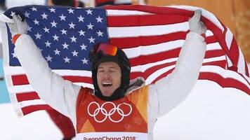 Shaun White wins Winter Olympics halfpipe gold in Pyeongchang