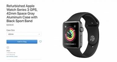 apple now sells refurbished apple watch series 3 with gps for only $279 usd