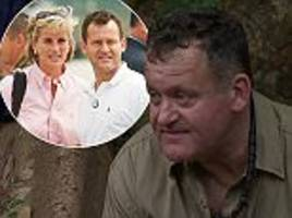 i'm a celeb: paul burrell details life after diana's death