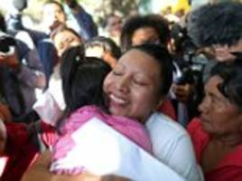 salvadorean woman jailed for still born birth is freed