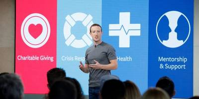 Facebook partners with business and nonprofits to offer help in crisis