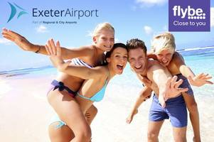 Here's how you can win flights from Exeter to Spain or Portugal for your family holiday
