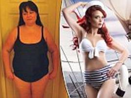 mother sheds half her body weight ditching takeaways