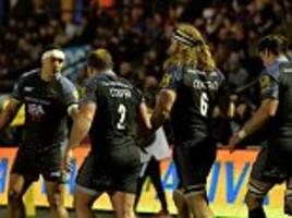 Newcastle 29-12 Bath: Falcons secure double over visitors