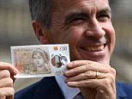 old £10 notes no longer legal tender from 1 march 2018