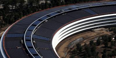 apple employees reportedly keep walking into glass walls and doors at the new 'spaceship' campus (aapl)