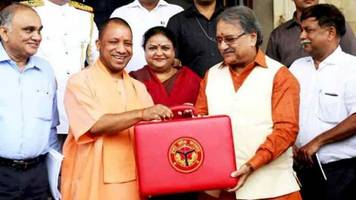 uttar pradesh government presents budget for the next fiscal