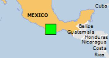 Green earthquake alert (Magnitude 7.5M, Depth:43km) in Mexico 16/02/2018 23:39 UTC, 880000 people within 100km.