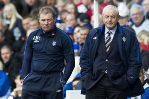 rangers fans to see legends return to ibrox as club announce charity match
