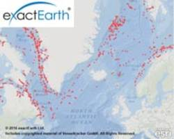 18 satellites in exactEarth's real-time constellation now in service