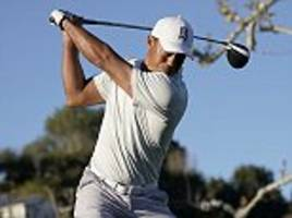 Tiger Woods has to have patience at the Genesis Open