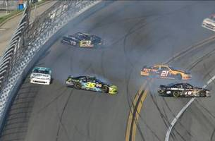Cole Custer and Daniel Hemric collected in late wreck at Daytona   2018 NASCAR XFINITY SERIES