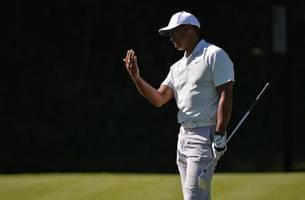 Genesis Open: Tiger Woods misses cut at Riviera; Patrick Cantlay, Graeme McDowell share lead