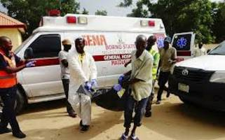 Suicide bombers killed 19 people in Nigeria