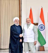 india, iran ink nine agreements in different areas