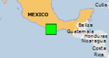 Green earthquake alert (Magnitude 5.8M, Depth:8.87km) in Mexico 17/02/2018 00:36 UTC, 770000 people within 100km.