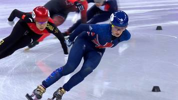 winter olympics 2018: elise christie coasts into 1500m semi-finals