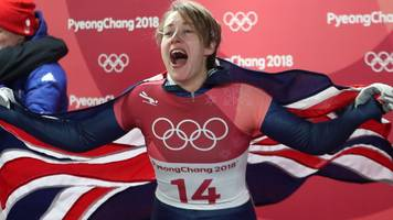 Winter Olympics: Lizzy Yarnold defends skeleton gold as Laura Deas takes bronze
