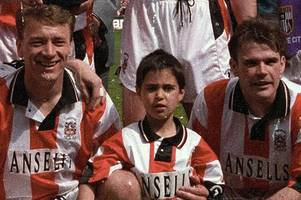help us reunite stoke city's title-winners of 25 years ago with their lucky mascot
