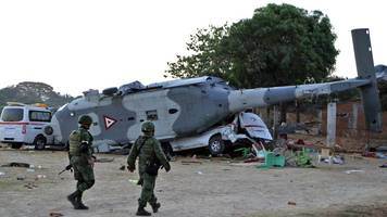 Mexico earthquake: Helicopter crashes in emergency killing 13