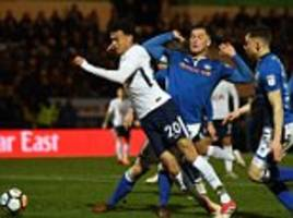 rochdale boss hill refuses to criticise alli for 'dive'
